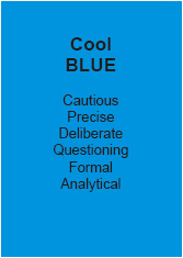 Personality Test Cool Blue - Andy Edwards