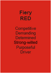 Personality Test Fiery Red - Andy Edwards