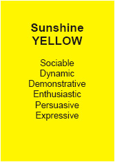 Personality Test Sunshine Yellow - Andy Edwards