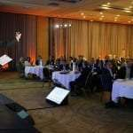 Andy Edwards motivational Speaker speaking at a conference